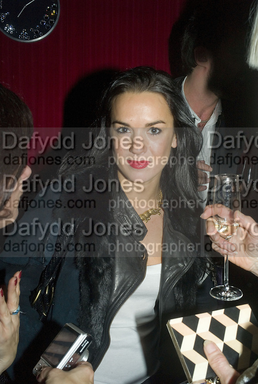 Amelia Powers, SOLANGE AZAGURY-PARTRIDGE  launches her new diamond collection PLATONIC and second perfume COSMIC at her shop 187 Westbourne Grove, London.  W11 13 November 2007. -DO NOT ARCHIVE-© Copyright Photograph by Dafydd Jones. 248 Clapham Rd. London SW9 0PZ. Tel 0207 820 0771. www.dafjones.com.
