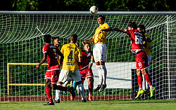 Mitja Križan of Bravo during football match between NK Bravo and NK Aluminij in 5th Round of Prva liga Telekom Slovenije 2019/20, on August 9, 2019 in Sports park ZAK, Ljubljana, Slovenia. Photo by Vid Ponikvar / Sportida