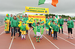 Aghagower won the Prize for best in Parade at the Mayo Community Games in Claremorris last week.<br /> Pic Conor McKeown