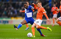 Abu Ogogo of Bristol Rovers closes down Calum MacDonald of Blackpool - Mandatory by-line: Dougie Allward/JMP - 15/02/2020 - FOOTBALL - Memorial Stadium - Bristol, England - Bristol Rovers v Blackpool - Sky Bet League One