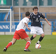Nicky Riley and Ryan Borris - Stirling Albion v Dundee, IRN BRU Scottish League 1st Division, Forthbank Stadium, Stirling<br /> <br />  - © David Young<br /> ---<br /> email: david@davidyoungphoto.co.uk<br /> http://www.davidyoungphoto.co.uk