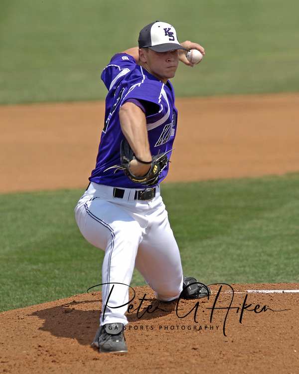 The Wildcats held on to beat Kansas 5-4 at Tointon Stadium in Manhattan, Kansas, April 23, 2006.
