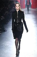Mirte Maas walks down runway for F2012 Jason Wu's collection in Mercedes Benz fashion week in New York on Feb 10, 2012 NYC