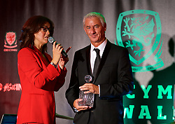 CARDIFF, WALES - Monday, October 2, 2017: FAW Special Award Winner Ian Rush during the FAW Awards Dinner at the Hensol Castle. (Pic by David Rawcliffe/Propaganda)