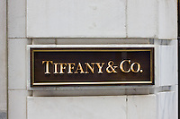 Tiffany & Co. shop in New York October 2008