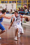 DESCRIZIONE : Cagliari Qualificazione Eurobasket 2009 Serbia Italia <br /> GIOCATORE : Giuseppe Poeta <br /> SQUADRA : Nazionale Italia Uomini <br /> EVENTO : Raduno Collegiale Nazionale Maschile <br /> GARA : Serbia Italia Serbia Italy <br /> DATA : 20/08/2008 <br /> CATEGORIA : Palleggio <br /> SPORT : Pallacanestro <br /> AUTORE : Agenzia Ciamillo-Castoria/S.Silvestri <br /> Galleria : Fip Nazionali 2008 <br /> Fotonotizia : Cagliari Qualificazione Eurobasket 2009 Serbia Italia <br /> Predefinita :