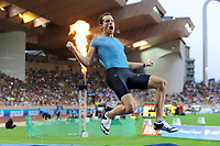 Renaud Lavillenie of France competes and wins in Pole Vault Men during the International Athletics Meeting Herculis, IAAF Diamond League, Monaco on July 17, 2015 at Louis II  stadium in Monaco, France - Photo Jean-Marie Hervio / KMSP / DPPI