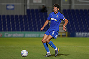 AFC Wimbledon defender Will Nightingale (5) dribbling during the EFL Trophy (Leasing.com) match between AFC Wimbledon and U23 Brighton and Hove Albion at the Cherry Red Records Stadium, Kingston, England on 3 September 2019.