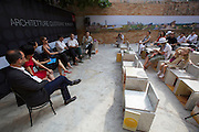 """12th Biennale of Architecture. Hong Kong Exhibition. """"Daily Architectures"""" discussion panel."""
