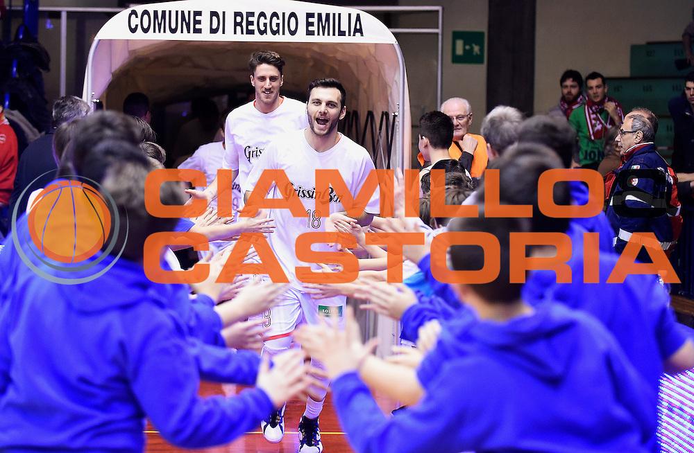 DESCRIZIONE : Reggio Emilia Campionato Lega A 2015-16 Grissin Bon Reggio Emilia Pasta Reggia Juve Caserta<br /> GIOCATORE : Stefano Gentile<br /> CATEGORIA : Before Pregame<br /> SQUADRA : Grissin Bon Reggio Emilia<br /> EVENTO : Campionato Lega A 2015-16<br /> GARA : Grissin Bon Reggio Emilia Pasta Reggia Juve Caserta<br /> DATA : 20/12/2015<br /> SPORT : Pallacanestro <br /> AUTORE : Agenzia Ciamillo-Castoria/A.Giberti<br /> Galleria : Campionato Lega A 2015-16  <br /> Fotonotizia : Reggio Emilia Campionato Lega A 2015-16 Grissin Bon Reggio Emilia Pasta Reggia Juve Caserta<br /> Predefinita :