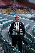 17/03/2016: Port Adelaide chairman David Koch at the Adelaide Oval.   Kelly Barnes/The Australian.
