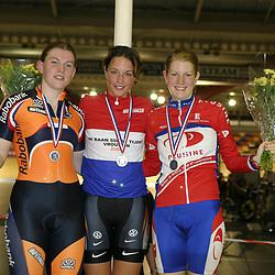 ALKMAAR (NED) wielrennen<br /> NK Baanwielrennen ; vrouwen; ; 500meter