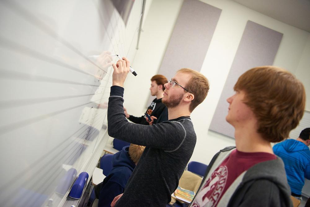 "-UWL UW-L UW-La Crosse University of Wisconsin-La Crosse; Candid; Center for the ArtsCFA; Classroom; Collaborating; day; December; Inside; Man men; Music; Student students; Studying; ""Whiteboard;Chalkboard"""