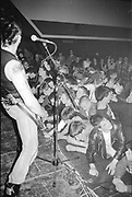 Crowd watching UK Subs live, UK, 1980s.
