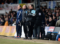 Bristol Rovers Manager Darrell Clarke gives his players directions. - Mandatory byline: Alex James/JMP - 19/03/2016 - FOOTBALL - Rodney Parade - Newport, England - Newport County v Bristol Rovers - Sky Bet League Two