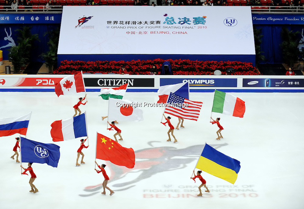 Dec 09, 2010; Beijing, CHINA; The opening ceremony of the ISU Grand Prix Final.