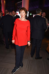 Celia Imrie at the Costa Book Awards 2017 held at  Quaglino's, 16 Bury Street, London England. 30 January 2018.