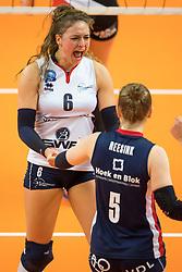 17-02-2019 NED: National Cupfinal Sliedrecht Sport - Apollo 8, Zwolle<br /> Fleur Savelkoel #6 of Sliedrecht Sport