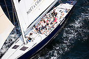 America II sailing in Newport to spectate at the America's Cup World Series.