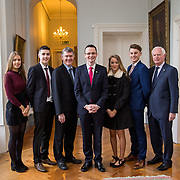 20.11.2016           <br /> Winners of the 2016 All Ireland Scholarships were commended by Rugby Legend, Paul O'Connell at an awards ceremony at the University of Limerick. <br />  Sponsored by JP McManus, the educational scheme is set to provide financial assistance to many high achieving students who completed their Leaving Certificat/A Level examinations in 2016. <br /> <br /> Attending the awards ceremony were, scholarship recipients, Chloe Carrick, Ballinasloe Co. Galway, James McDonnell, Middleton Co. Cork, Eimear McErlane, The Loup Co. Derry and Conor Gaffney, Wexford Town with Andrew McCormick, The Permanent Secretary at the Department for the Economy, Northern Ireland, Patrick O'Donovan TD, Minister for Tourism & Sport and Gerry Boland, JP McManus Foundation. Picture: Alan Place