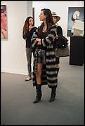 NICOLE CURRAN, Opening of Frieze art Fair. London. 14 October 2014