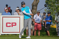 August 23, 2018 - Regina, SK, U.S. - REGINA, SK - AUGUST 23: In Gee Chun (KOR) watches her tee shot on 12 during the CP Women's Open Round 1 at Wascana Country Club on August 23, 2018 in Regina, SK, Canada. (Photo by Ken Murray/Icon Sportswire) (Credit Image: © Ken Murray/Icon SMI via ZUMA Press)