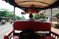 Street life and scenes around Phnom Penh