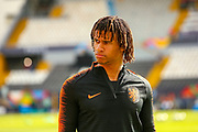 Netherlands Defender Nathan Ake (Bournemouth) during the Netherlands training session ahead of the Nations League Semi-Final against England at Estadio D. Afonso Henriques, Guimaraes, Portugal on 5 June 2019.