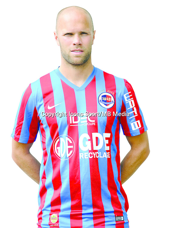 Alexandre RAINEAU - 17.09.2014 - Portrait officiel - Caen - Ligue 1<br /> Photo : Icon Sport