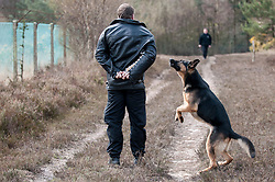 Sussex Police dog team