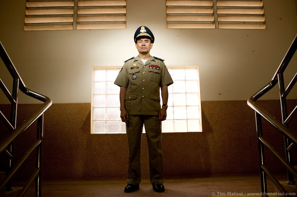 Bith Kim Hong, with the Cambodian National Police, is considered one of the anti-trafficking leaders.