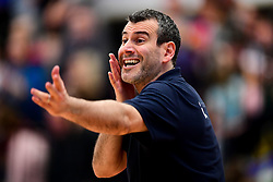 Bristol Flyers head coach Andreas Kapoulas - Photo mandatory by-line: Ryan Hiscott/JMP - 17/01/2020 - BASKETBALL - SGS Wise Arena - Bristol, England - Bristol Flyers v London City Royals - British Basketball League Championship