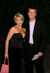 Actress LESLEY ASH and her husband LEE CHAPMAN at a ball in London on 17th June 1997.LZL 48