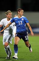 Fifa Womans World Cup Canada 2015 - Preview //<br /> Algarve Cup 2015 Tournament ( Vila Real San Antonio Sport Complex - Portugal ) - <br /> Norway vs Usa 1-2 , Alex Morgan of Usa (Right)