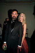 Joely Richardson; Evgeny Lebedev, Nicky Haslam party for Janet de Bottona nd to celebrate 25 years of his Design Company.  Parkstead House. Roehampton. London. 16 October 2008.  *** Local Caption *** -DO NOT ARCHIVE-© Copyright Photograph by Dafydd Jones. 248 Clapham Rd. London SW9 0PZ. Tel 0207 820 0771. www.dafjones.com.