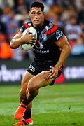 Roger Tuivasa-Sheck. Auckland Warriors v St George Dragons. NRL Rugby League.Magic Round 2019 Suncorp Stadium, Brisbane, New Zealand. May 11, 2019. © Copyright photo: Patrick Hamilton / www.photosport.nz