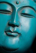 """A Buddhist statue for sale in """"Panjiayuan,"""" Beijing's weekend flea market."""