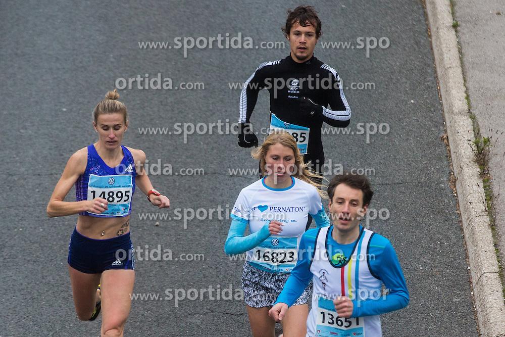 Sonja Roman and Marusa Mismas during 20th Ljubljana Marathon 2015, on October 25, 2015 in Ljubljana, Slovenia. Photo by Grega Valancic / Sportida