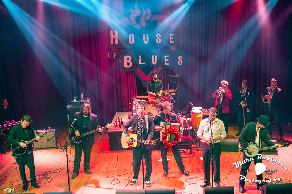 The Boys from the County Hell, House Of Blues, 2015, concert photography by Akron music photographer, Cleveland music photographer Mara Robinson