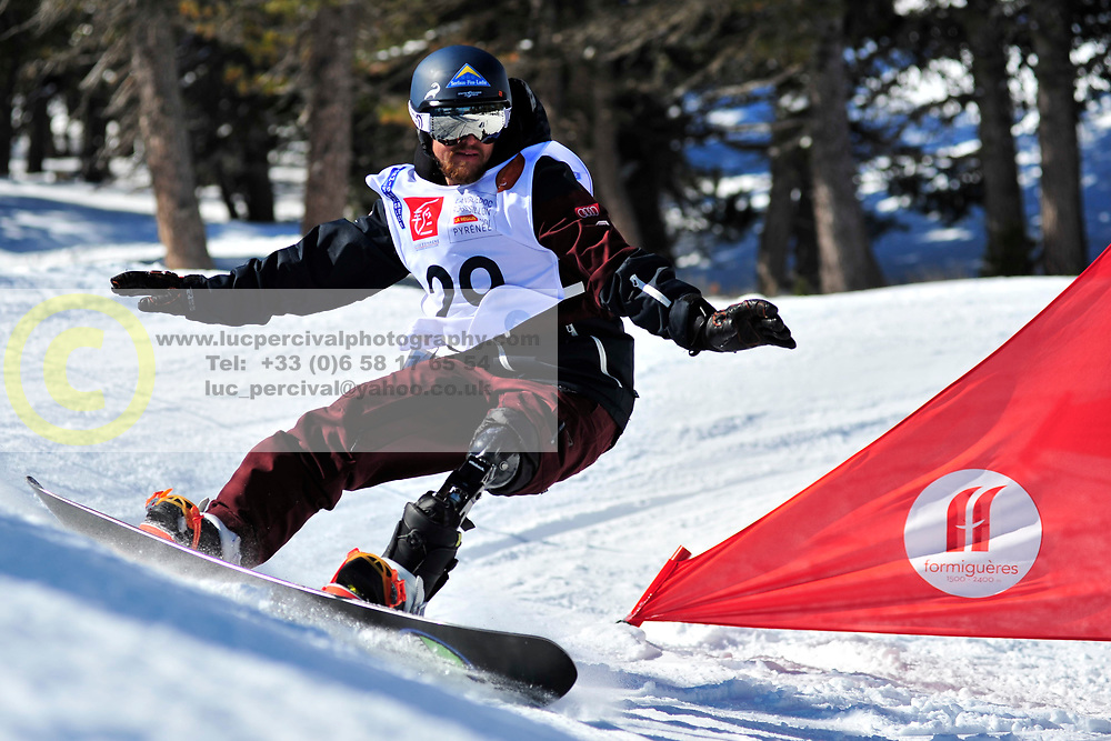 World Cup Banked Slalom, ECKHART Renee, AUT at the 2016 IPC Snowboard Europa Cup Finals and World Cup
