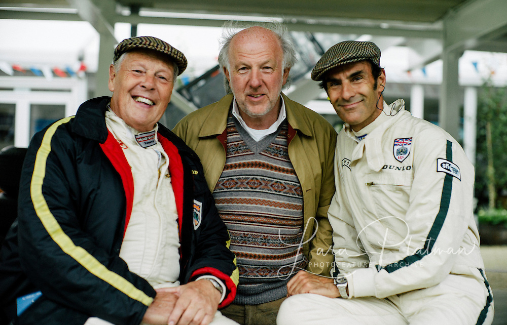 Goodwood Revival 2013, Dave Richards, Barry Williams, Emanuele Pirro,