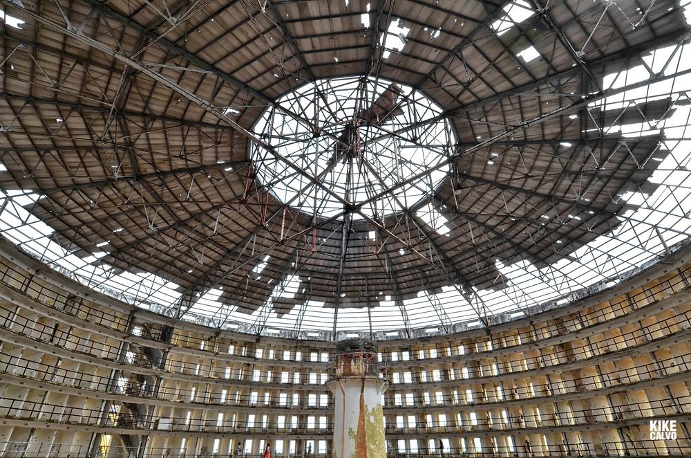 The Presidio Modelo prison on the Isle of Youth, Cuba where Fidel Castro was incarcerated