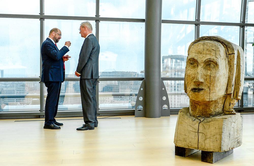 Martin SCHULZ - EP President meets with Norbert LAMMERT