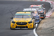 19th May 2018, Winton Motor Raceway, Victoria, Australia; Winton Supercars Supersprint Motor Racing; Tim Slade drives the number 14 Brad Jones Racing Holden Commodore ZB during race 13 of the 2018 Supercars Championship