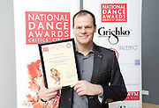 The Critics' Circle National Dance Awards 2016 <br /> at the Lilian Baylis Studio, Sadler's Wells, London, Great Britain <br /> <br /> 6th February 2017 <br /> <br /> <br /> Luca Silvestrini <br /> Artistic Director<br /> Luca Silvestrini&rsquo;s Protein <br /> <br /> <br /> Photograph by Elliott Franks <br /> Image licensed to Elliott Franks Photography Services