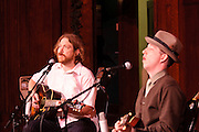 Pokey LaFarge and Ryan Spearman at Folk School Of St Louis 10th Anniversary Show, Sheldon Concert Hall 12.1.2011