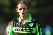 Forest Green Rovers Abby Dance(5) during the South West Womens Premier League match between Forest Greeen Rovers Ladies and Marine Academy Plymouth LFC at Slimbridge FC, United Kingdom on 5 November 2017. Photo by Shane Healey.