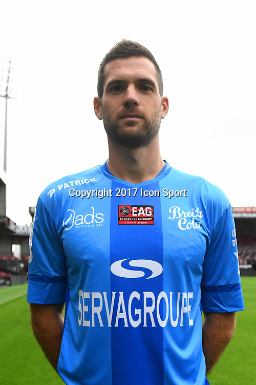 Denis Petric during photocall of En Avant Guingamp for new season 2017/2018 on September 7, 2017 in Guingamp, France. (Photo by Philippe Le Brech/Icon Sport)