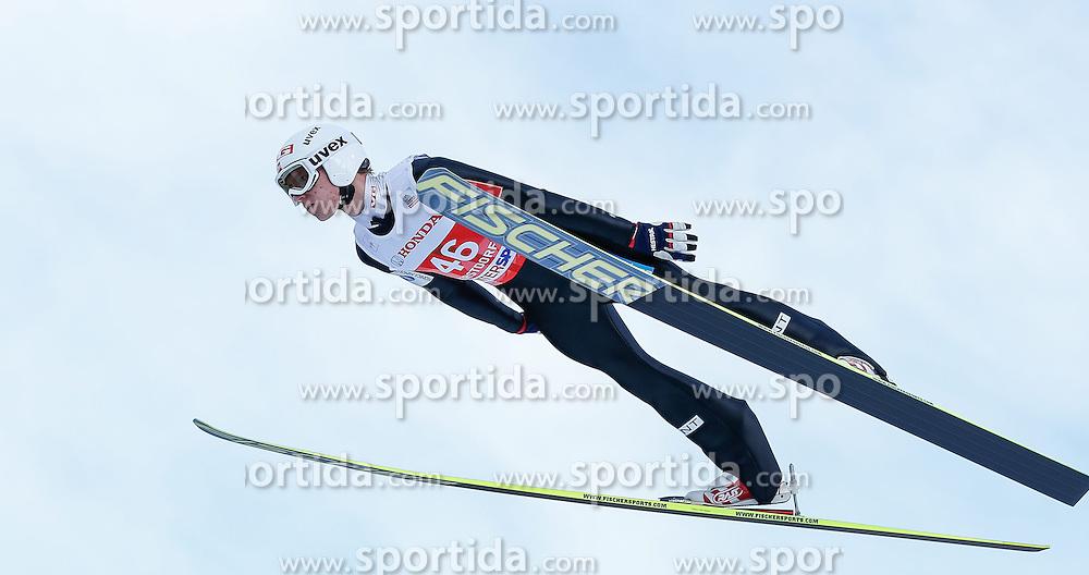 28.12.2013, Schattenbergschanze, Oberstdorf, GER, FIS Ski Sprung Weltcup, 62. Vierschanzentournee, Training, im Bild Rune Velta (NOR) // Rune Velta of Norway during practice Jump of 62th Four Hills Tournament of FIS Ski Jumping World Cup at the Schattenbergschanze, Oberstdorf, Germany on 2013/12/28. EXPA Pictures © 2013, PhotoCredit: EXPA/ Peter Rinderer