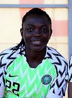 International Women's Friendly Matchs 2019 / <br /> Womens's Cyprus Cup Tournament 2019 - <br /> Nigeria v Thailand 3-0 ( Tasos Marko Stadium - Paralimni,Cyprus ) - <br /> Alice Ogebe of Nigeria